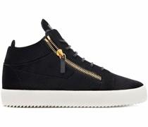 Kriss High-Top-Sneakers aus Samt