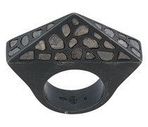 'Cresent Bridge Pyramid' Ring