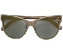 Cat-Eye-Sonnenbrille mit Sternapplikation