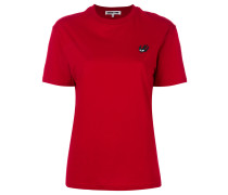 Swallow patch T-shirt