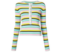horizontal stripe sweater