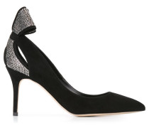 'Magda' Pumps - women - Leder/Wildleder/Metall