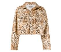 'Berty' Jacke mit Leoparden-Print
