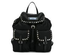 studded detail backpack