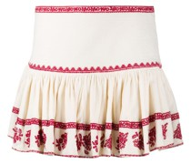 Russell embroidered mini skirt