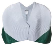Cropped-Cardigan in Colour-Block-Optik