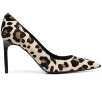 Pumps mit Leoparden-Print