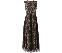 Seidenkleid mit floralem Print - women