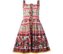 Kleid mit Rosen-Print - women - Baumwolle - 42