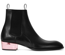 Chelsea-Boots mit transparentem Absatz