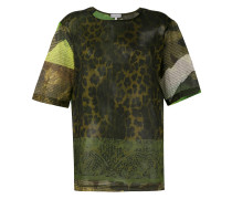 T-Shirt mit Animal-Print - women - Baumwolle - S