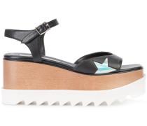 Sandalen mit Plateausohle - women - rubber