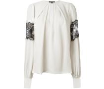 lace detailing blouse