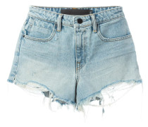 Jeans-Shorts im Used-Look - women