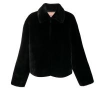 Jacke aus Faux Fur
