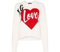 'D&G is Love' Intarsien-Pullover