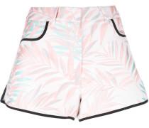 'Palm Leaf' Shorts - women