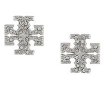 Ohrstecker mit Kristallen