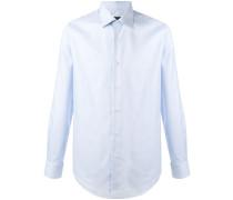 curved hem shirt - men - Baumwolle - 43