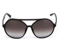 Garavani  Sonnenbrille mit rundem Gestell