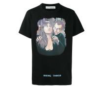 """T-Shirt mit """"Vampire""""-Print"""