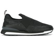 Slip-On-Sneakers mit Glitzereinsatz