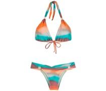 Bikini mit Paisley-Print