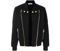 double zip bomber jacket