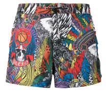 Badeshorts mit Print - men - Polyester - M