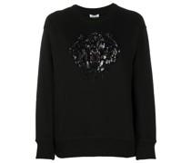 Sweatshirt mit Tigerapplikation