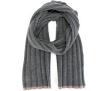 Gerippter Schal aus Kaschmir