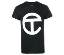 Langes T-Shirt mit Logo-Print