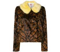 'Betsy' Jacke mit Leopardenmuster