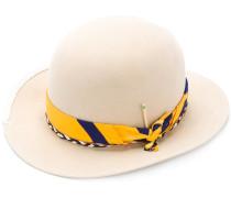 bandana detail hat