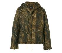 Wattierte Oversized-Jacke