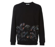 Sweatshirt mit Pavian-Print