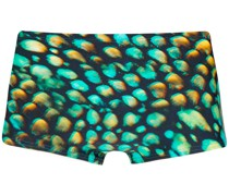 printed 'krai' swim trunk