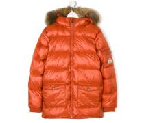 midi padded coat