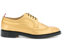 Classic Longwing Brogue With Leather Sole In Seasonal Pebble Grain