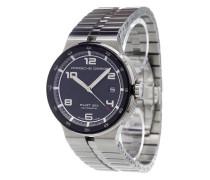 'Flat Six' analog watch