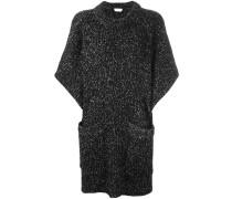oversized marled jumper