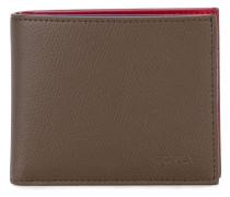 Portemonnaie mit rotem Interieur - men - Leder