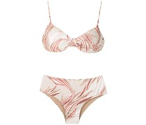 'Verônica' Bikini mit Print