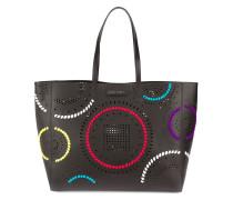 Perforierte Handtasche