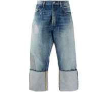 x Levi's Cropped-Jeans