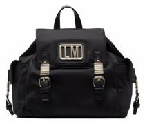 patch-embellished backpack