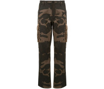 Hose mit Camouflage-Muster