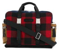 Reisetasche mit Karomuster