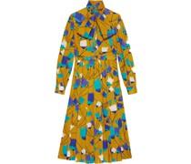 Kleid mit Tulpen-Print