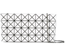 Schultertasche mit geometrischem Muster - women